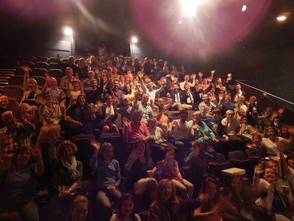Audience seated in Putney Arts Theatre